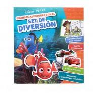 Libro Set de Diversión Personajes de Disney