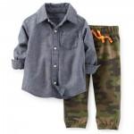 Conjunto Camisa Manga Larga y Pantalón-Bebito