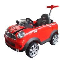 Push Mini Cooper-Rojo